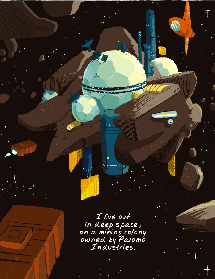 """An Unusual Relationship Blooms in the Intergalactic """"Space Boy"""""""