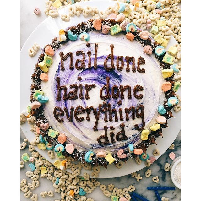 This Instagram Account Combines Drake Lyrics With Yummy Cake