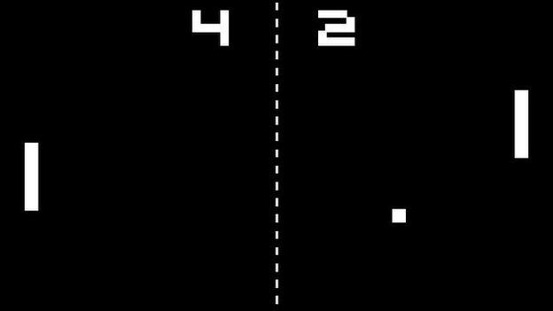 Pong Image: 4 left, 2 right