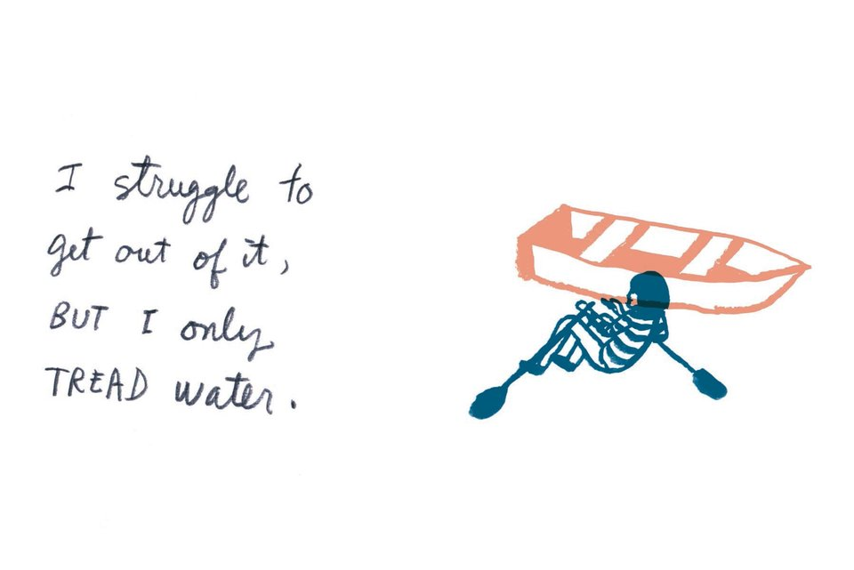"""Thin Slices of Anxiety"" Is An Illustrated Look At An Anxious Mind"